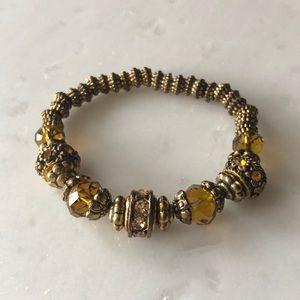 Jewelry - | nwot | Honey + Gold Bracelet